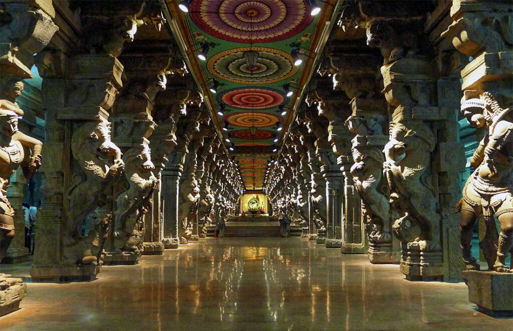 Thousand Pillar Hall - Madurai Meenakshi Temple
